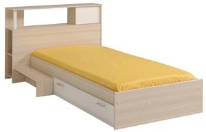 łóżko Charly 90 X 200 Z Półką I Szufladą